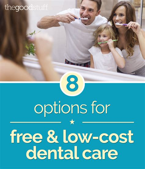 dental cleaning cost 8 options for free and low cost dental care thegoodstuff