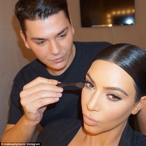 What Happens When Kim Kardashians Makeup Artist Does | kim kardashian s make up artist reveals his favorite