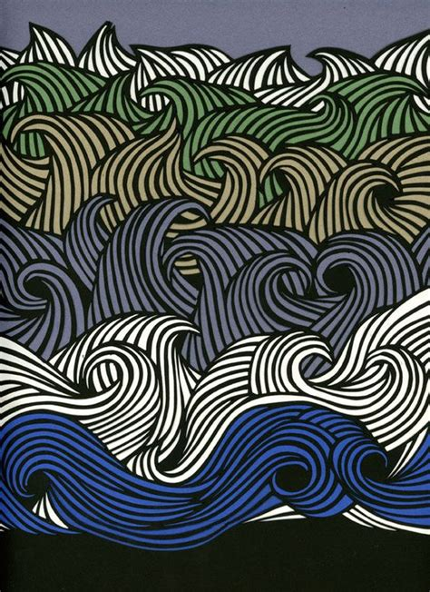 zentangle pattern water waves from dutch uncle yup need to incorporate some wave