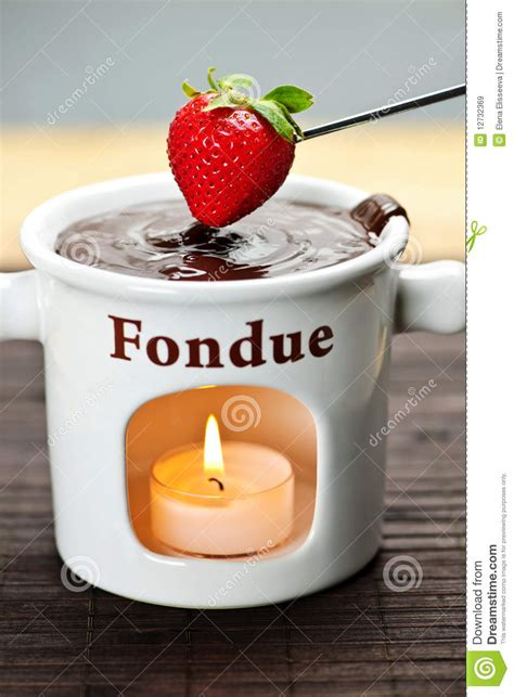 Choco Fondue Choco Stick strawberry dipped in chocolate fondue royalty free stock images image 12732369