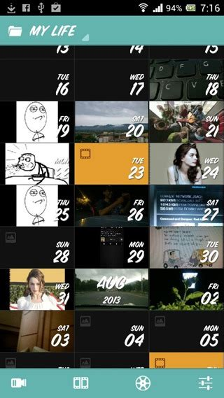 how to film one second everyday compile a movie of your life from daily photos videos on
