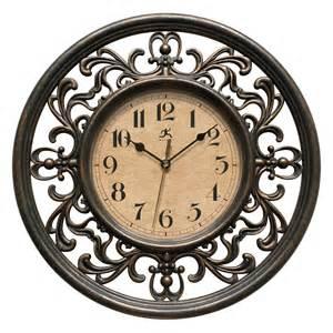 Infinity Outdoor Clocks Infinity Instruments Sofia 12 In Wall Clock Wall Clocks