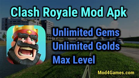 clash of clans apk unlimited gems clash royale mod apk unlimited gems unlimited golds all troops at max level mod4games