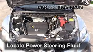 follow these steps to add power steering fluid to a mazda