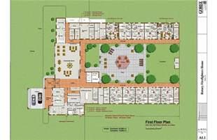 nursing home floor plan nursing home designs home and landscaping design