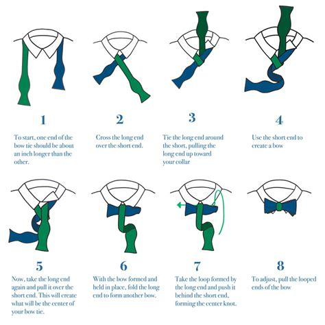 printable directions how to tie a tie how to tie bow ties the bow tie experts