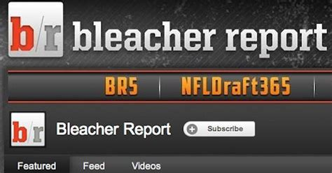 bench report bleacher report launches 4 youtube sports shows