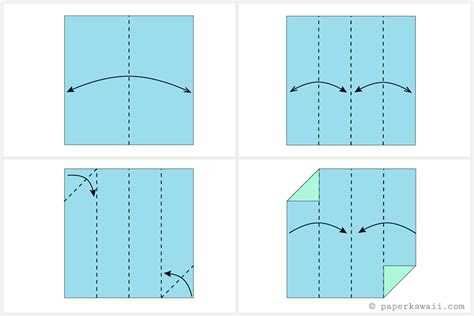 origami modular cube how to make a modular origami cube box