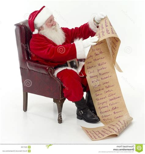 photo of santa sitting in his chair