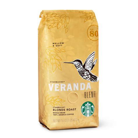 Starbucks Veranda Blend Blonde Roast   Coffee Crossroads