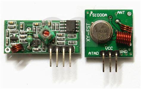 433 Mhz 433mhz Transmitter Dan Receiver Transceiver Baru Baru B jual rf 433 mhz transmitter receiver module forarduino warungarduino