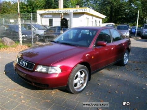 1999 audi a4 1 8 aircon 17 inch rims car photo and specs