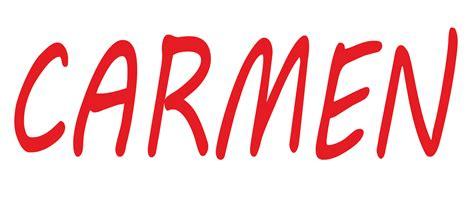 imagenes de el nombre carmen significado de carmen