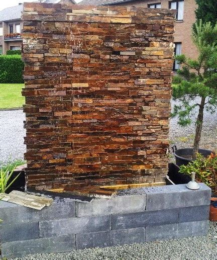 backyard water wall 30 relaxing water wall ideas for your backyard or indoor