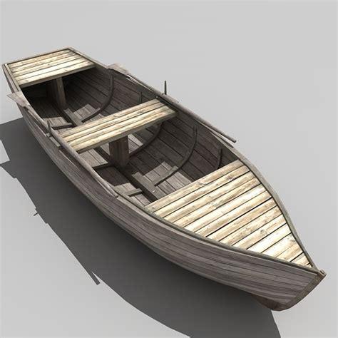 3d boat row boat 3d max