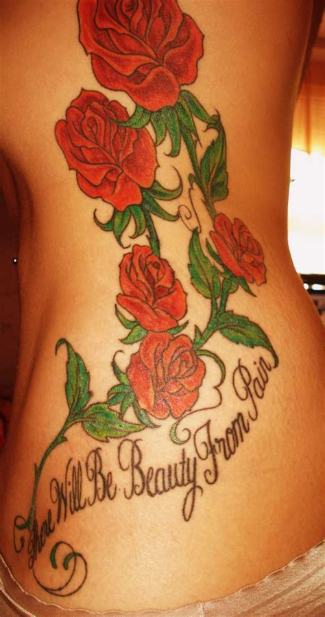 beauty from pain tattoo is quotes quotesgram