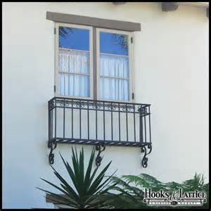 Juliet balcony faux balcony balconet hooks amp lattice