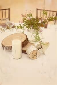 wood discs for wedding centerpieces wood disc centerpiece pour le travail