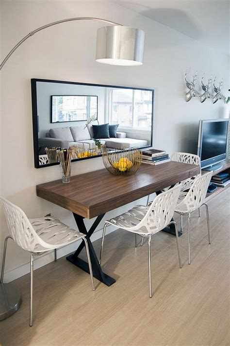 Small Dining Table Designs 10 Narrow Dining Tables For A Small Dining Room