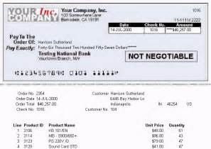 31 6 create a check stub with payment information and