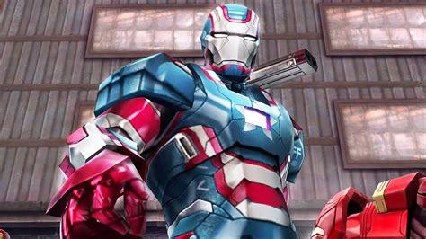 Ironman Patriot Tideway marvel future fight iron patriot suit review