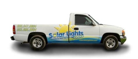 Solar Lights And More Solar Lights And More Truck Bb Graphics The Wrap Pros
