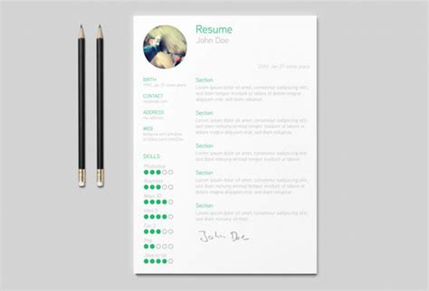 cv template ai 26 free resume templates to give you that career boost noupe