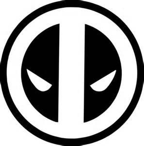 marvel deadpool logo vinyl decal i bought a silhouette