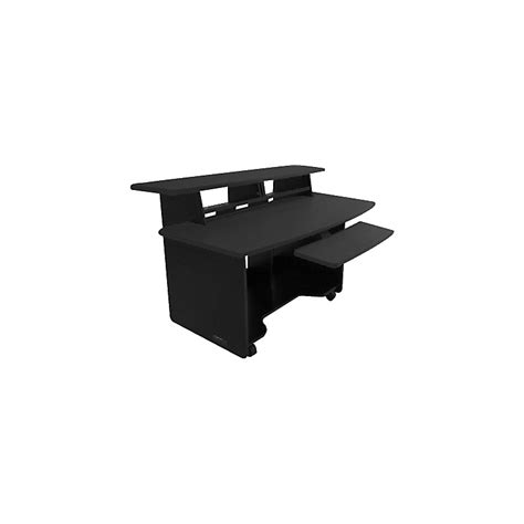 omnirax presto 4 studio desk black musician s friend