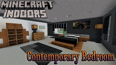 Minecraft Interior Design Bedroom Minecraft Indoors Interior Design Contemporary Bedroom