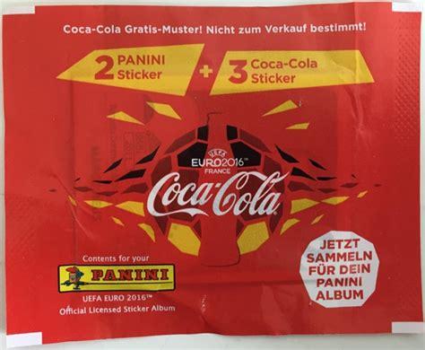 Stickers Coca Cola Panini by Panini Sammelbild Info