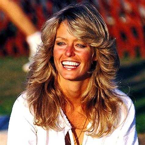 feathered 1970 hair farrah fawcett the daily texan