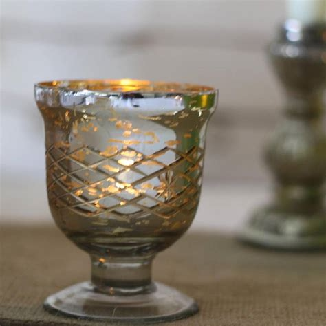 Votive Vases by Mercury Silver Footed Votive Or Vase By The Wedding Of Dreams Notonthehighstreet