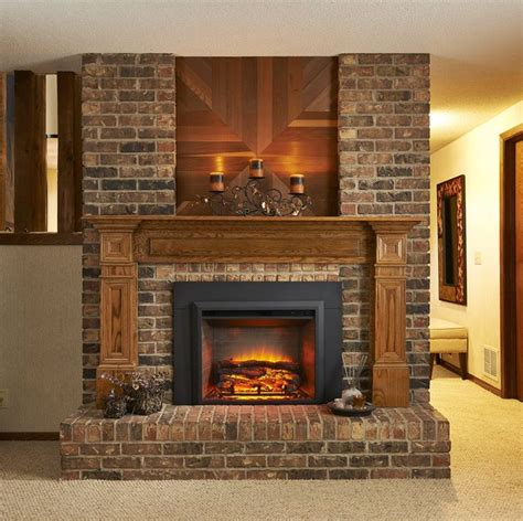 29 quot x 23 quot built in electric fireplace insert fireplaces