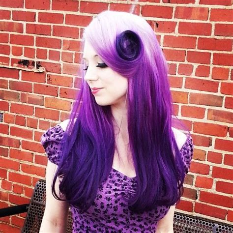 purple hair color thebestfashionblog com wonderful dark purple ombre hair color for blonde hair