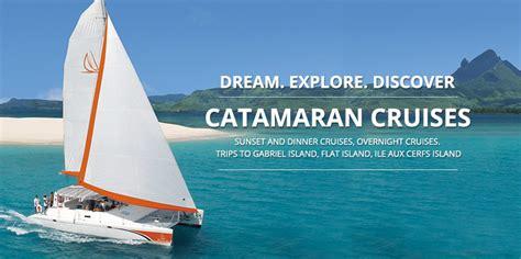 catamaran sailing cruisers mauritius catamaran sailing cruises and catamaran trips in