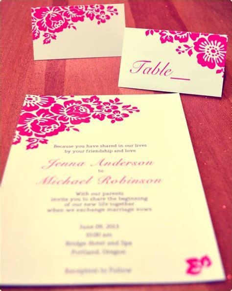 free pink wedding invitation templates 17 best ideas about free printable wedding invitations on