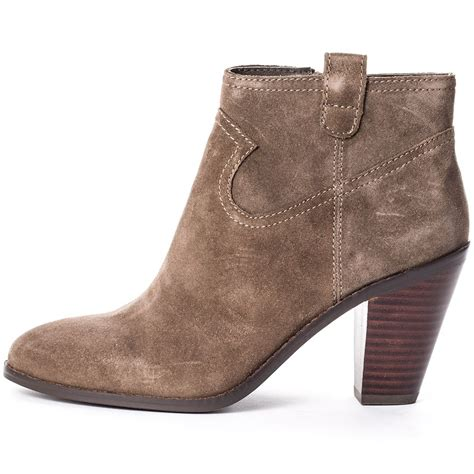 ash ivana womens ankle boots in chestnut