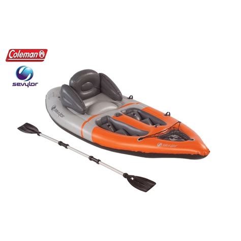 kayak boats sit on top sevylor inflatable boat sit on top kayak w paddle buy