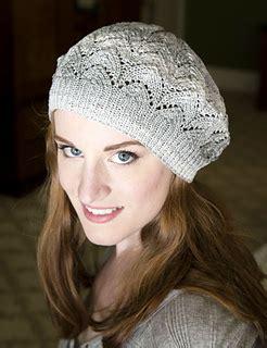 knitting co inc ravelry f672 lace beret pattern by ewing