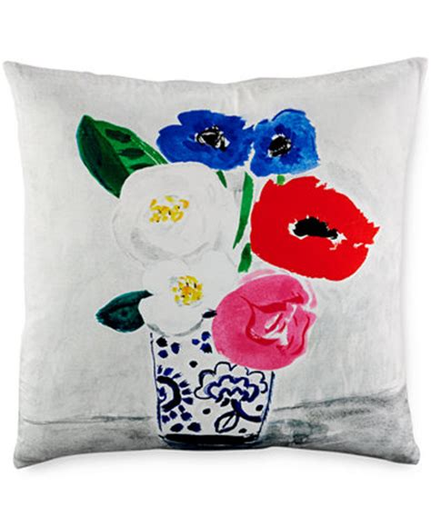 Kate Spade Pillow by Kate Spade New York Vase 20 Quot Square Decorative Pillow