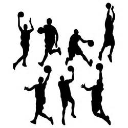 basketball silhouette vector for free use basketball silhouettes