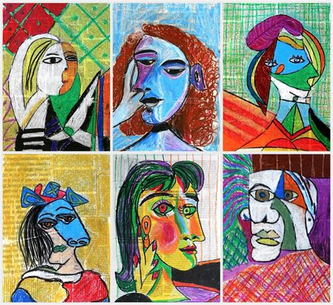 picasso paintings ks1 chassary belarbi 16 17 04 2016 circulations