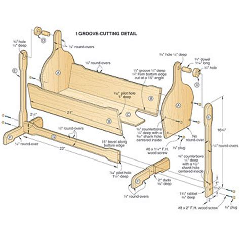 cradle plans woodworking diy pendulum cradle plans free plans free