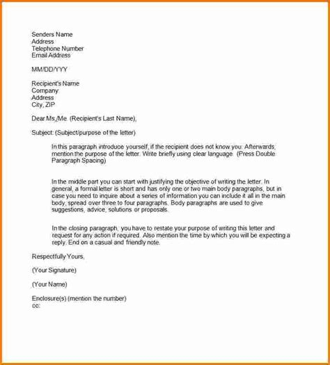 Business Letter Template Printable 5 Printable Formal Business Letter Format Expense Report