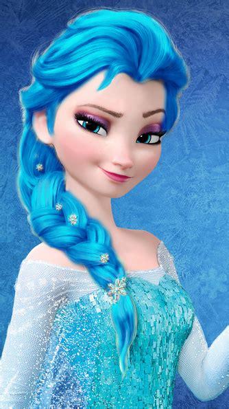 elsa hair color elsa darker light blue hair color frozen photo