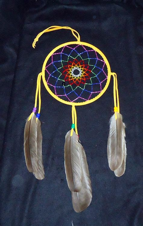 how to make a beaded dreamcatcher beaded catcher by nativecrafter on deviantart