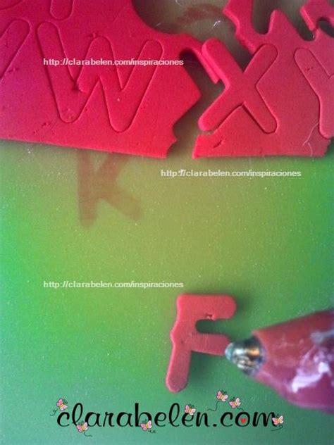 inspiraciones manualidades y reciclaje foami o goma inspiraciones manualidades y reciclaje inspiraciones manualidades y reciclaje como hacer sellos de letras para rotuladores con