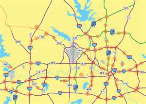 dallas fort worth freeways