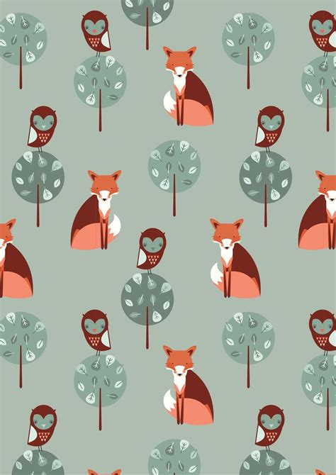 watercolor fox pattern 18 best fox wallpaper images on pinterest fox foxes and